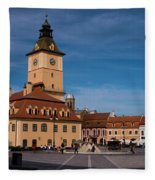 Brasov Council Square Fleece Blanket