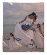 Brave New World Dimensions Custom Sample Fleece Blanket