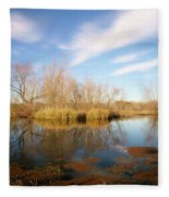 Brazos Bend Winter Bliss Fleece Blanket