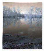 Brazos Bend Winter Fantasy Fleece Blanket