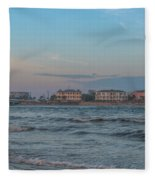 Breach Inlet Water Scape Fleece Blanket
