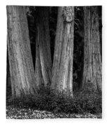 Breadth Of Trees Fleece Blanket