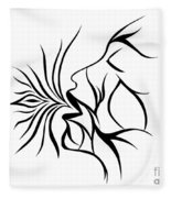 Breath Easy  Fleece Blanket