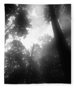 Breathing Trees Fleece Blanket