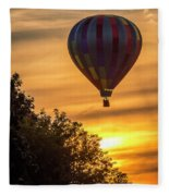 Breathtaking Hot Air Fleece Blanket