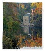 Breck's Mill Fleece Blanket