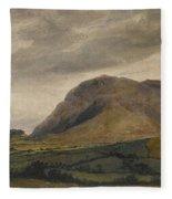 Breidden Hill In The Welsh Borders Fleece Blanket