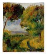 Breton Landscape Trees And Moor 1892 Fleece Blanket