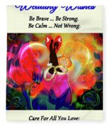 Brian Exton Love Light And Roses  Bigstock 164301632  231488 Fleece Blanket