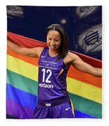 Briann January Lgbt Pride 2 Fleece Blanket