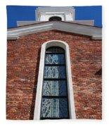 Brick Church Fleece Blanket