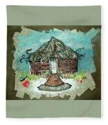 Brick House Fleece Blanket