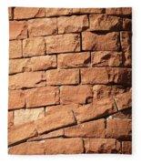 Bricks Spiraling Fleece Blanket