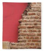 Bricks, Stones, Mortar And Walls - 3 Fleece Blanket