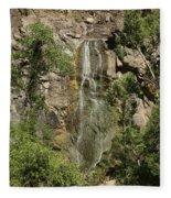 Bridal Veil Falls Spearfish Fleece Blanket