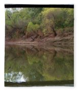 Bridge Frame Fleece Blanket