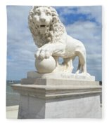 Bridge Of Lions II Fleece Blanket
