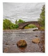 Bridge Of Orchy Argyll Bute Fleece Blanket