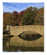 Bridge Reflection Fleece Blanket