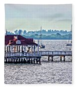 Bridge Street Pier Fleece Blanket