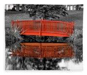Bridge The Gap Fleece Blanket