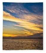 Bridge Through The Sky Fleece Blanket