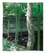 Bridge To Calm Fleece Blanket