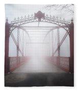 Bridge To Nowhere Fleece Blanket