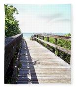 Bridge To Paradise Gp Fleece Blanket