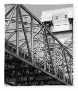 Bridge Willmington Nc Fleece Blanket