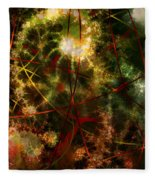 Bridges To Inner Sanctums Fleece Blanket