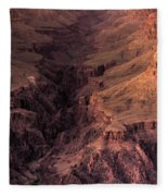 Bright Angel Canyon Grand Canyon National Park Fleece Blanket