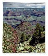 Bright Angel Trail Fleece Blanket