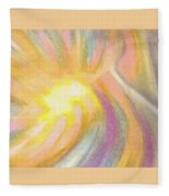 Bright Light Flight Fleece Blanket
