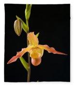 Bright Orchid Fleece Blanket