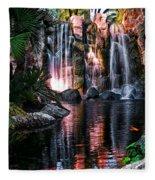 Bright Waterfalls Fleece Blanket