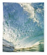 Bright Wave - Makena Fleece Blanket
