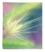 Bright Weed Fleece Blanket