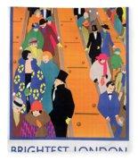 Brightest London Is Best Reached By Underground Fleece Blanket