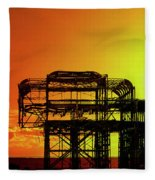 Brighton 4 Fleece Blanket