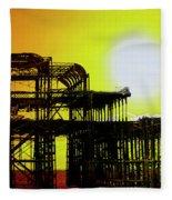 Brighton 5 Fleece Blanket