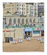 Brighton Seaside  Fleece Blanket