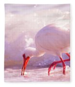 Brilliant Beauty Cortez Beach Fleece Blanket