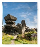 Brimham Rocks Fleece Blanket