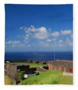 Brimstone Hill Fortress Fleece Blanket