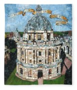 Bring Light Unto Mine Eyes Fleece Blanket