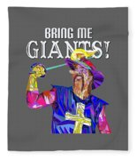 Bring Me Giants Tee Fleece Blanket