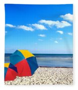 Bring The Umbrella With You Fleece Blanket