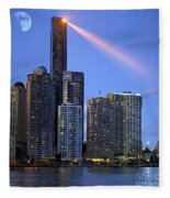 Brisbane 10 Fleece Blanket
