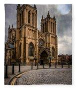 Bristol Cathedral Fleece Blanket